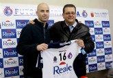 El Reale Cartagena ha presentado esta mañana a su último fichaje de esta temporada