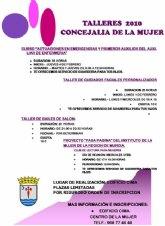 La Concejalía de la Mujer presenta sus nuevas propuestas para las mujeres del municipio