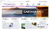 El portal web cartagenaturismo recibe un 30 por ciento más de visitas