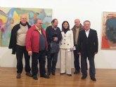 El Palacio Almudí muestra el presente de la Generación Límite de pintores murcianos