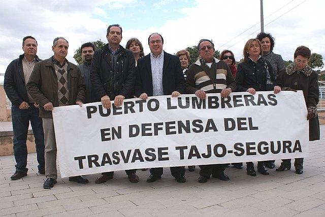 El Ayuntamiento de Puerto Lumbreras se suma a la proposición de Ley de Aprovechamiento Sostenible del Acueducto Tajo Segura - 1, Foto 1