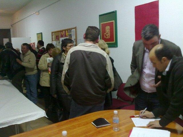 Pedro López inicia la ronda de visitas por las Agrupaciones socialistas de Murcia - 1, Foto 1