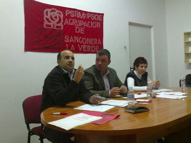 Pedro López inicia la ronda de visitas por las Agrupaciones socialistas de Murcia - 2, Foto 2