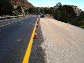 Obras Públicas amplía  con un tercer carril la carretera que conecta Blanca con la autovía A-30