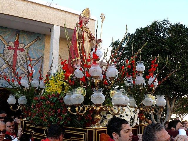 San Blas volverá a congregar a miles de personas mañana en la ermita de Santiago de la Ribera - 1, Foto 1