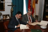 El alcalde de Totana y el presidente de la UCAM se al�an