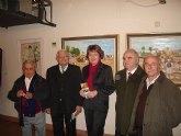 Cuatro pintores murcianos exponen sus obras unidas por la temática regional en el museo de San Javier