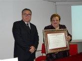 Conchita Abellán Mulero recibe el título de Hija Predilecta de Molina de Segura