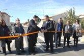 Obras Públicas mejora el tramo urbano de la carretera que une La Unión con el polígono industrial Los Camachos