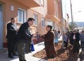 La Comunidad entrega 23 nuevas viviendas rehabilitadas en el barrio de San Gil de La Unión