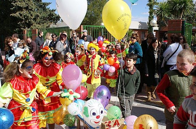 Más de un millar de escolares celebran las fiestas de Carnaval en los colegios del municipio - 2, Foto 2