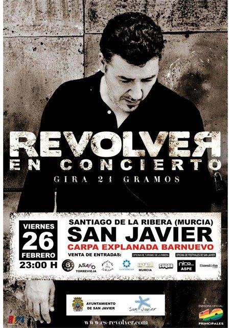 Revólver cerrará el programa de Carnaval de Santiago de la Ribera con un concierto  el 26 de febrero - 1, Foto 1