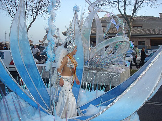 El presidente de Aidemar, Paco García pregona el carnaval de Santiago de la Ribera que este fin de semana elige a sus Reinas - 1, Foto 1