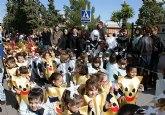 Más de un millar de escolares celebran las fiestas de Carnaval en los colegios del municipio