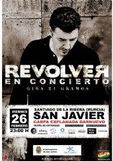 Revólver cerrará el programa de Carnaval de Santiago de la Ribera con un concierto  el 26 de febrero