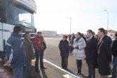 El nuevo Centro de Transportes de Balsicas mejora la competitividad de las industrias hortofrutícolas y agroalimentarias de la Región