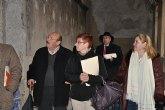 Los diputados socialistas Retegui y Martínez Bernal visitan el convento de San Francisco