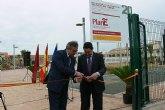 González Tovar y el alcalde de San Pedro del Pinatar inauguran el Jardín Botánico de las Salinas, financiado con cargo al Fondo Estatal de Inversión Local