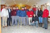Los alumnos del grupo de carpintería de la Escuela Taller 'Casa de las Monjas I' realizan una jornada de convivencia en la pedanía de Raiguero Alto