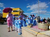 """Los alumnos del colegio """"Guadalentín"""" de el Paretón-Cantareros fueron los protagonistas del divertido desfile de Carnaval"""