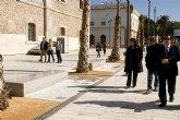La plaza del CIM se abrirá al público en menos de un mes