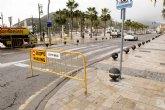 Abre la plaza del Cruceiro aunque se mantiene cortada la calle Real