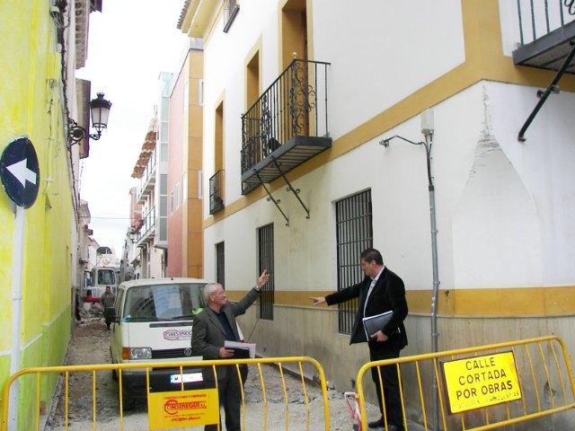Acabadas las obras de reforma y modernización de tres calles de Archena y comienzan las de la calle Vizcondes de Rías, en pleno casco histórico - 1, Foto 1