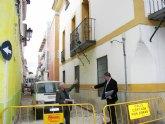 Acabadas las obras de reforma y modernización de tres calles de Archena y comienzan las de la calle Vizcondes de Rías, en pleno casco histórico