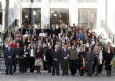 La Universidad de Murcia dio posesión de sus plazas a un centenar de funcionarios