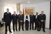 Toman posesión de sus plazas el oficial, dos sargentos y dos cabos de Policía Local en San Javier