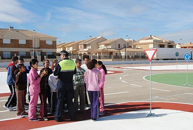 Los alumnos de El Mirador y Severo Ochoa inauguran el programa municipal de Educación Vial dirigido a todos los colegios del municipio - 1, Foto 1