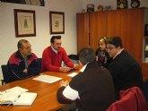 El concejal de Participación Ciudadana se reúne con la Asociación de Vecinos del barrio San José