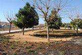 San Javier cuenta con un nuevo parque de más de siete mil metros tras el ajardinamiento  de una zona verde en Ciudad Jardín
