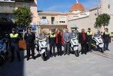 La Policía Local cuenta con cuatro nuevas motocicletas