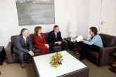 Los Graduados Sociales de Cartagena agradecen a la alcaldesa el apoyo del Ayuntamiento