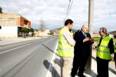 Obras Públicas mejora la conexión por carretera entre las pedanías murcianas de Monteagudo, Casillas y Llano de Brujas