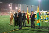 El Delegado del Gobierno y el Alcalde de Beniel inauguran el Complejo Deportivo con cargo al Fondo Estatal de Inversión Local