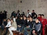 Los jóvenes ilorcitanos disfrutaron de un viaje al Castillo de Lorca