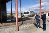 El Ayuntamiento y la Comunidad modernizarán el centro de desinfección de vehículos dedicados al transporte de ganado del municipio