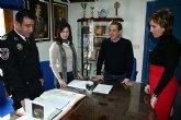 Nuevo sargento de la Policía Local de Alcantarilla, en la mañana de hoy se realizó la toma de posesión