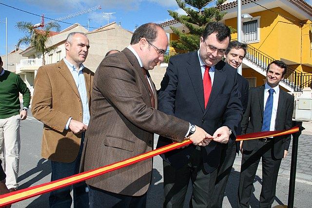 La Comunidad invierte 1,5 millones de euros en un acceso al núcleo urbano de Puerto Lumbreras - 1, Foto 1