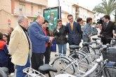 La Comunidad invierte más de 111.000 euros en la puesta en marcha del sistema de préstamo de bicicletas automático y manual en Mula
