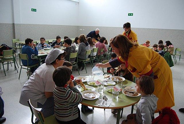 Queda inaugurado el nuevo comedor del Colegio Gines Díaz-San Cristóbal, Foto 1