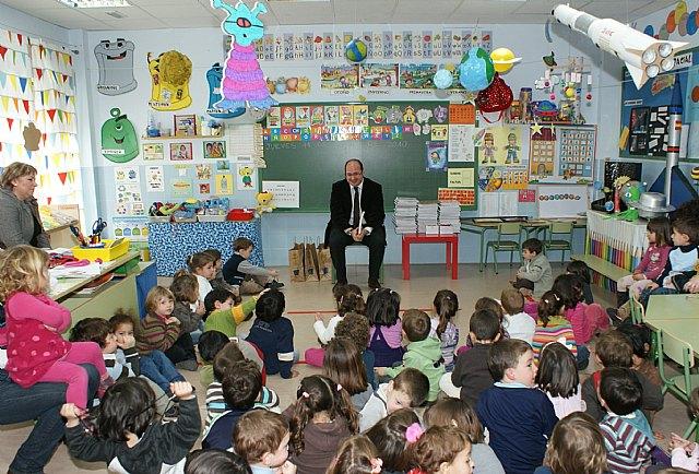 El Alcalde participa en un proyecto educativo junto a más de 200 alumnos del C. P. Juan Antonio López Alcaraz - 1, Foto 1