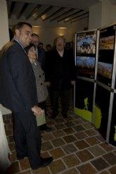 """El alcalde Alhama asiste al acto de inauguraci�n de """"Fotoespuña09"""""""