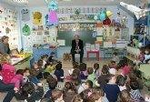 El Alcalde participa en un proyecto educativo junto a más de 200 alumnos del C. P. Juan Antonio López Alcaraz
