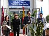 """La Escuela Taller """"Molino Quintín"""", una oportunidad para los jóvenes"""