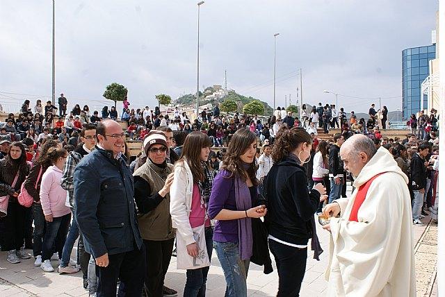 Más de 1.000 jóvenes se han congregado en Puerto Lumbreras en el Encuentro de Jóvenes Cristianos - 1, Foto 1