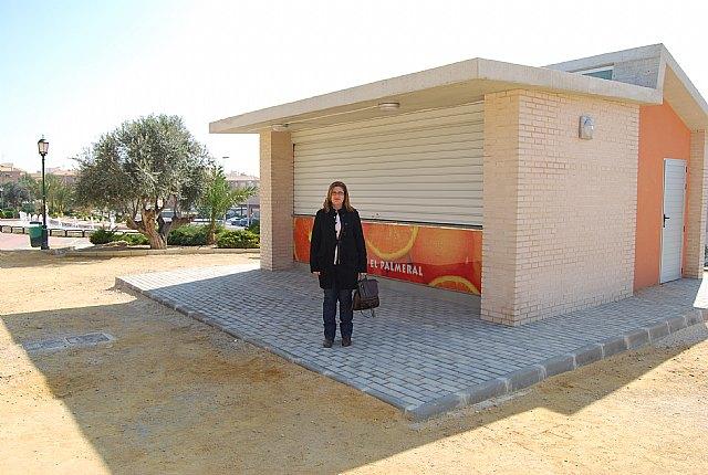 El Ayuntamiento de Alhama saca a concurso la cesión del kiosco del jardín de El Palmeral, Foto 1