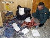 La Guardia Civil ha detenido a una persona como presunto autor de delito continuado de robo de cableado eléctrico